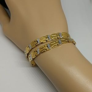 Other - Matching unisex gold and silver set.